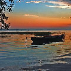 """фото """"Вечер на Плещеевом озере"""""""