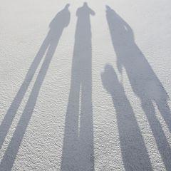 """photo """"Семейный портрет на снегу"""""""