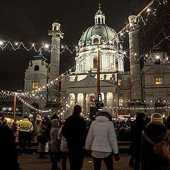 """photo """"Christkindlmarkt-Wien"""""""