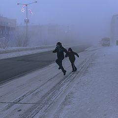 """photo """"Рождественский морозец"""""""