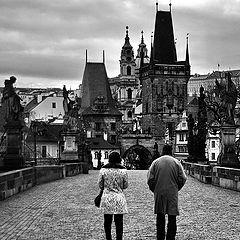 """photo """"Пара на мосту"""""""