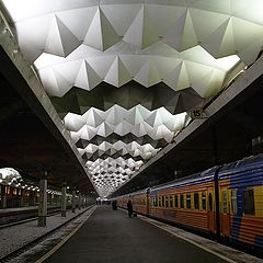 "photo ""The Moscow railway station"""