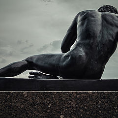 "photo ""a man of bronze"""