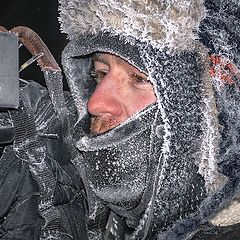 """photo """"Оператор в крещенскую ночь"""""""
