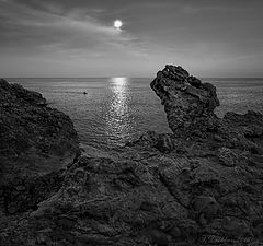 """photo """"La barca de la Luna y el dragon de piedra"""""""