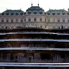 """photo """"Belvedere-Вена"""""""