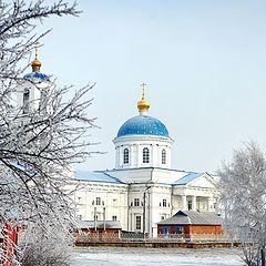 "photo ""собор зима снег иней мороз"""