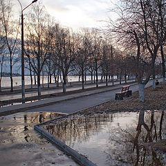 """photo """"Улица 1 Мая после проливного дождя"""""""