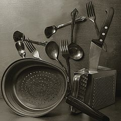 "photo ""Still life with the dishes"""