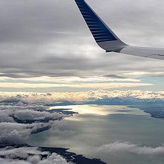 """фото """"Под крылом самолета..."""""""