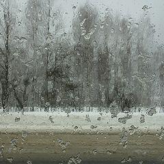 """фото """"...плачущая зима.."""""""