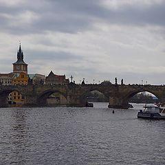 """фото """"Влтава. Карлов мост"""""""