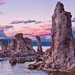 """photo """"Закат на Mono Lake"""""""