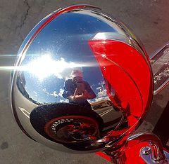 """photo """"Roadster Reflection"""""""