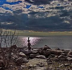 "photo ""Waiting. Seeing off ... Kronstadt"""
