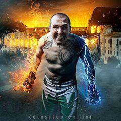 """фото """"Colosseum on fire"""""""