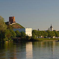 """photo """"Evening in Vilnius"""""""