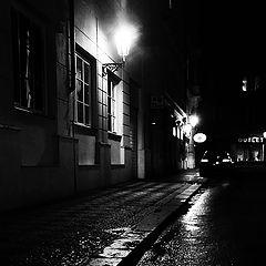 """photo """"Ночная улица"""""""
