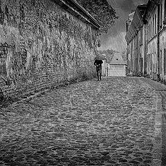 """photo """"Loneliness - rain ..."""""""