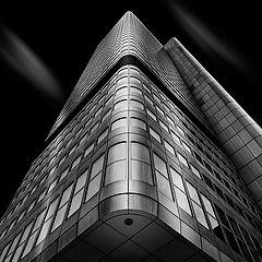 """photo """"Silberturm Frankfurt"""""""
