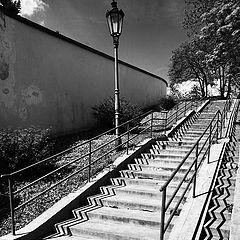 """photo """"Фонарь и лестница"""""""