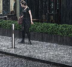 "photo ""The girl got in the rain ..."""