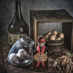 "фото ""Про наливку и яйцa"""