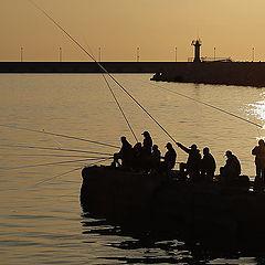 """фото """"Вечерняя рыбалка"""""""