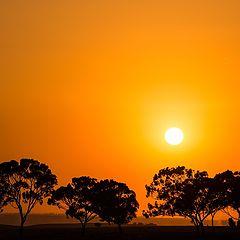 "фото ""Sunset near Beer-Sheva"""