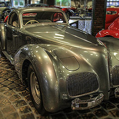 "photo ""Alfa-Romeo 6C2500 SS (Super Sport). 1939."""