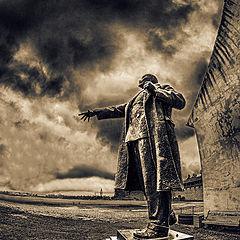 """фото """"Ленин в Октябре (1) (к столетию Октябрьской революции)"""""""