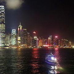"фото ""Огни Гонконга"""