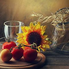 """фото """"Про помидоры и немного про чашку"""""""