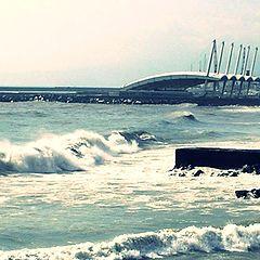 "photo ""hard waves"""