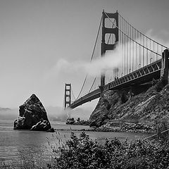 "фото ""Golden Gate мост, Сан Франциско"""