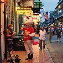 "photo ""Bourbon street"""