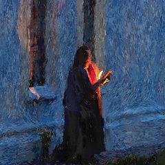 """фото """"Вечерняя молитва..."""""""