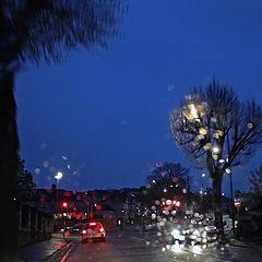 """фото """"Зимним дождливым вечером"""""""