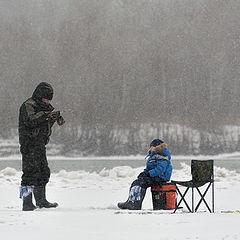 """фото """"Уроки подледной рыбалки"""""""