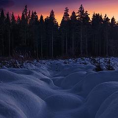 """фото """"Irish snow dunes"""""""