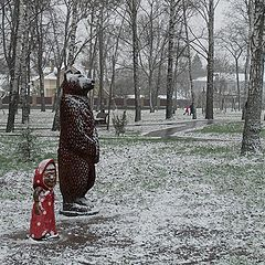 "фото ""Маши и медведь"""