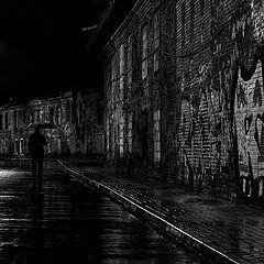 """фото """"Ночь. Дождь"""""""