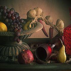 """фото """"Про бокал и фрукты"""""""