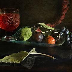 """фото """"С Подмосковным виноградом"""""""