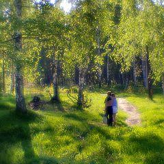 """фото """"И в лес ее гулять водил"""""""
