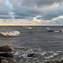 "photo ""winter storm. The Gulf of Finland"""