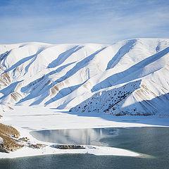 """фото """"Озеро Кезеной Ам зимой"""""""