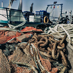 """photo """"In the fishing port ..."""""""