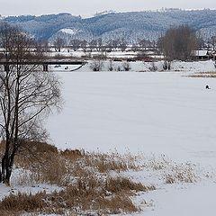 "photo ""It's a nasty day. Volga"""