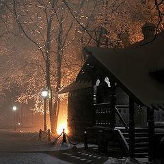 "фото ""ночь, фонарь, туман, не аптека..."""